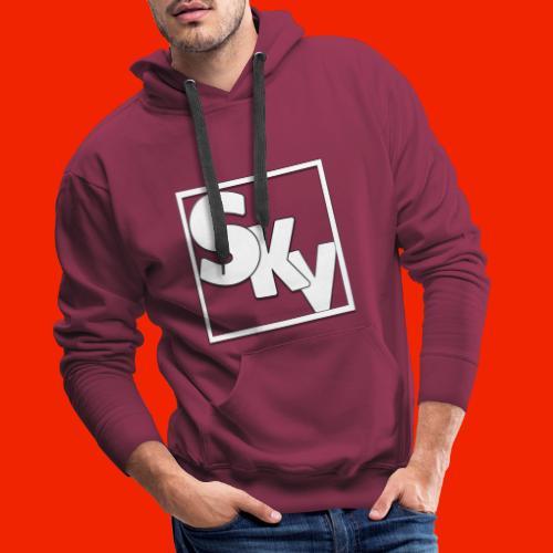 SerkanKetchupVlogs Logo (SKV Logo) - Mannen Premium hoodie