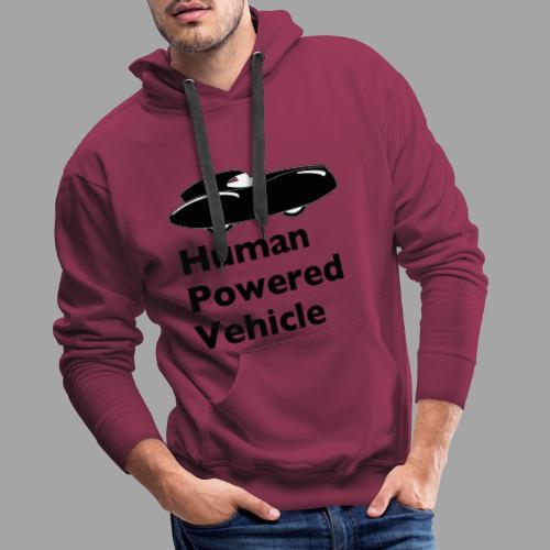 Quattrovelo Human Powered Vehicle black - Miesten premium-huppari