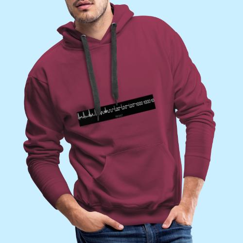 Resist the future - Mannen Premium hoodie