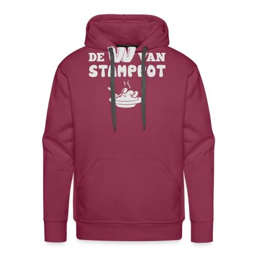 De W van Stamppot - Mannen Premium hoodie