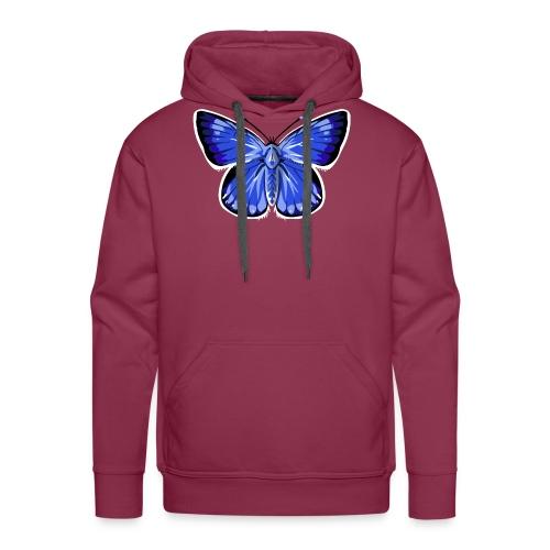 vlinder2_d - Mannen Premium hoodie