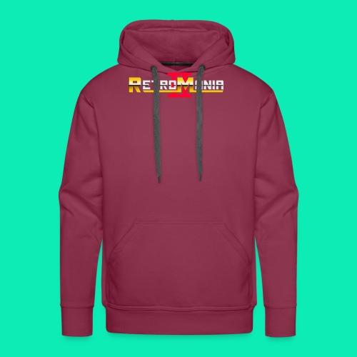 Retro Mania II - Logo - Männer Premium Hoodie