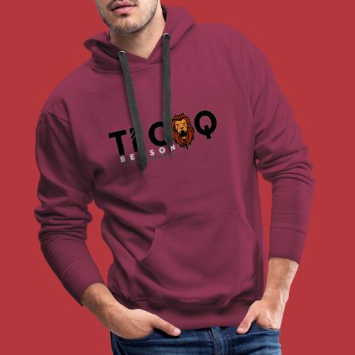 TI Coq Benson - Sweat-shirt à capuche Premium pour hommes