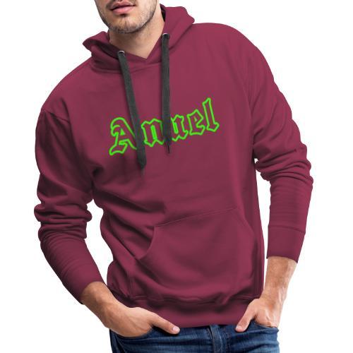 ANuel Fluor Green - Sudadera con capucha premium para hombre