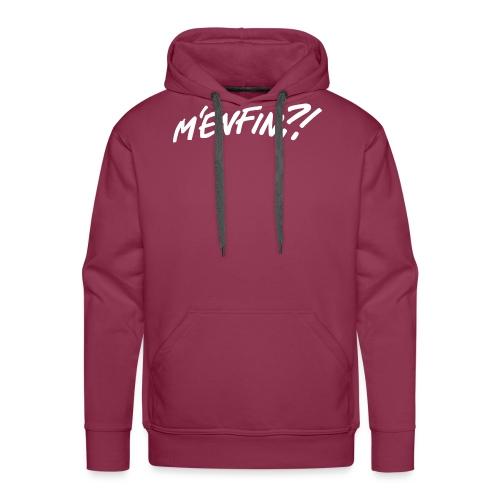 Menfin3 - Sweat-shirt à capuche Premium pour hommes
