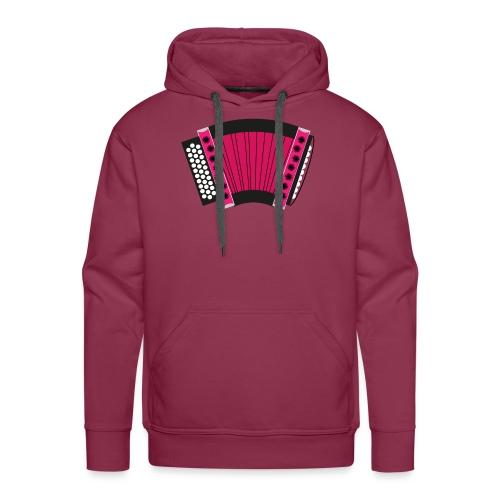 Schwyzerörgeli pink - Männer Premium Hoodie