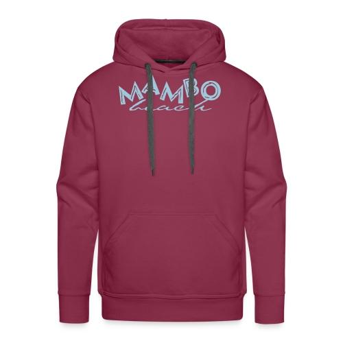 logo mambo blauw los eps orgineel - Mannen Premium hoodie