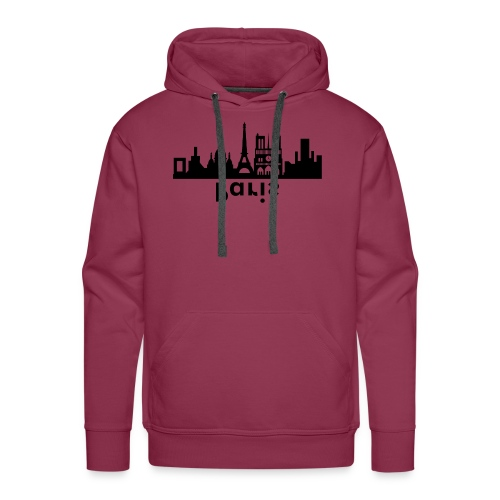 Paris Skyline - Männer Premium Hoodie