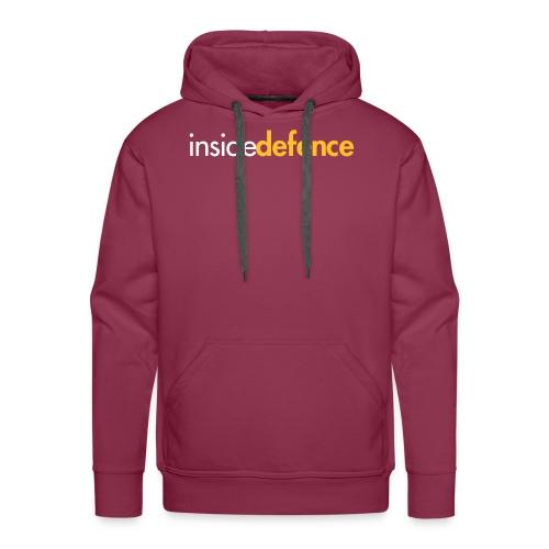 ClashLogo2_CMYK_whiteoran - Mannen Premium hoodie