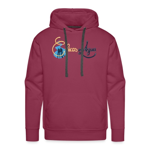 logo horizontal chicas del agua - Sweat-shirt à capuche Premium pour hommes