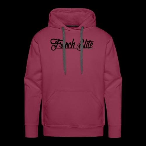 french elite sier voor strak achter - Mannen Premium hoodie