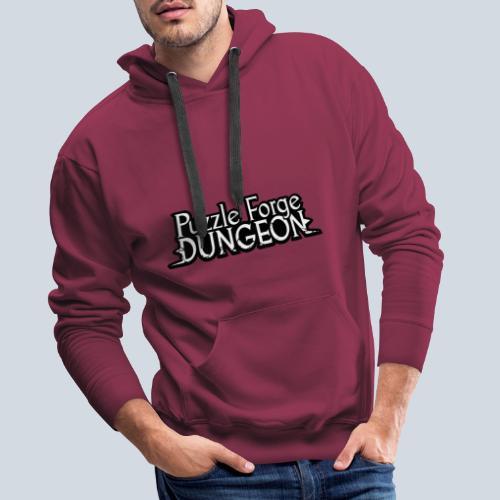 Puzzle Forge Dungeon - Sweat-shirt à capuche Premium pour hommes