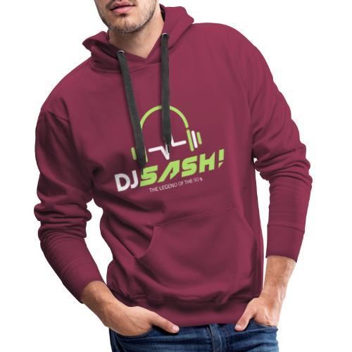 DJ SASH! - Headfone Beep - Men's Premium Hoodie
