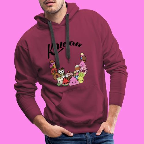 Kawaii - Süssigkeiten Sweets - Männer Premium Hoodie