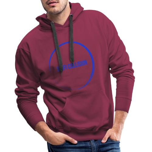 Dark Blue Logo - Men's Premium Hoodie