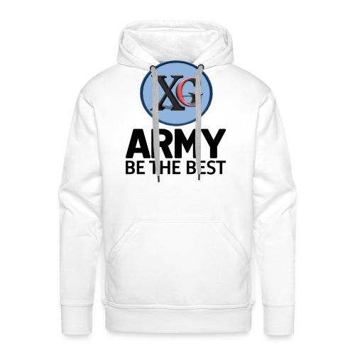xg-logo-army - Men's Premium Hoodie