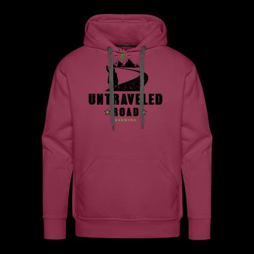 Untraveled Road Logo - black/small - Männer Premium Hoodie