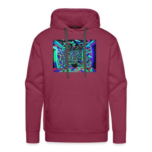 Cosmic Wood - Sweat-shirt à capuche Premium pour hommes