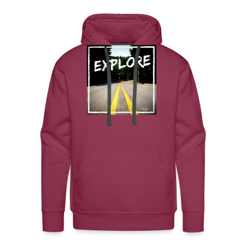 Explore with Oak - Männer Premium Hoodie