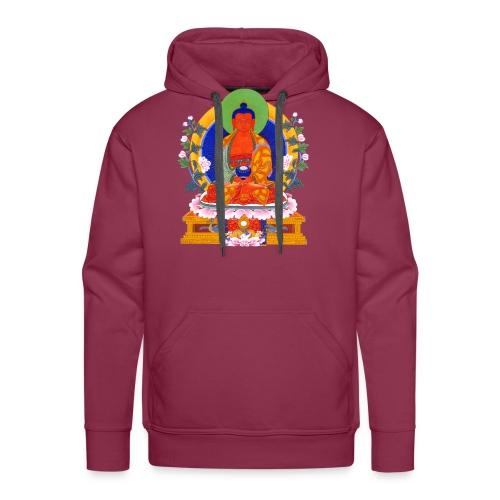 Budda Amitabha - Bluza męska Premium z kapturem