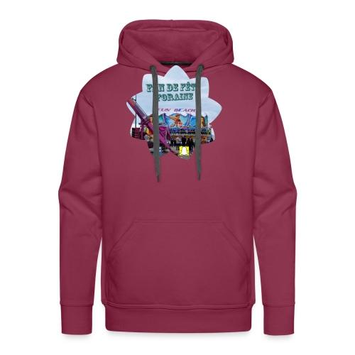 Fan de fête foraine habil - Sweat-shirt à capuche Premium pour hommes