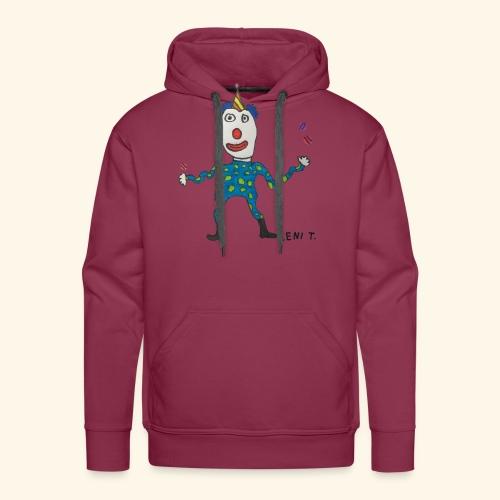 LeniT Clown - Miesten premium-huppari
