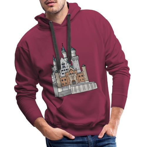Schloss Neuschwanstein c - Männer Premium Hoodie