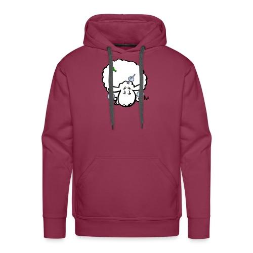 Owca choinkowa - Bluza męska Premium z kapturem