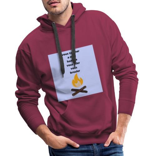pour homme et femme - Sweat-shirt à capuche Premium pour hommes