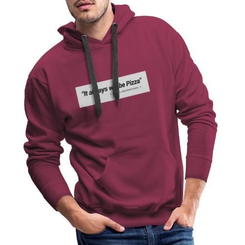 MERCH - PIZZALOVE - Männer Premium Hoodie