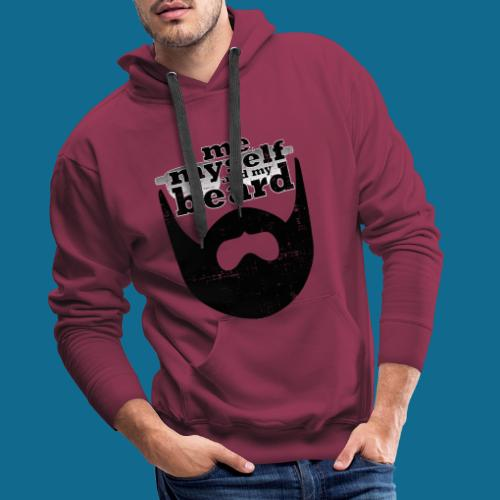 me myself and my beard - Männer Premium Hoodie