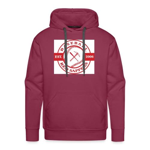 logo weiss - Men's Premium Hoodie
