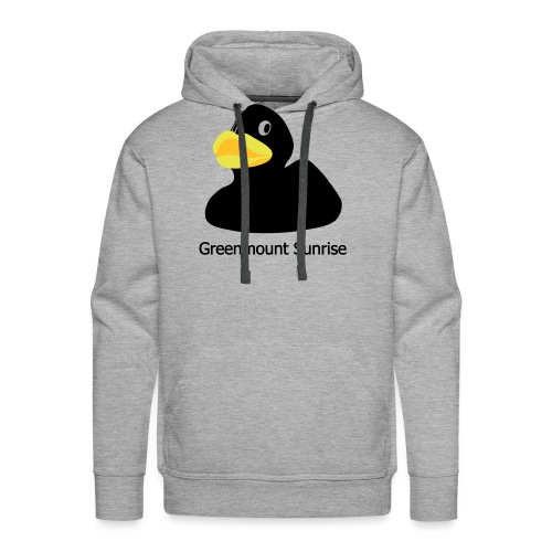 Greenmount Sunrise Logo - Männer Premium Hoodie