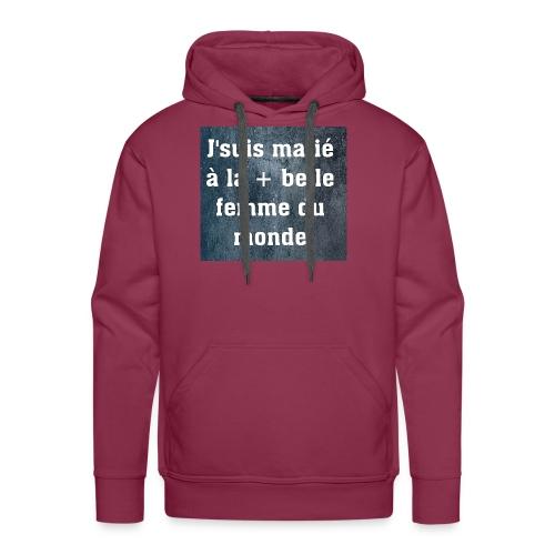 Homme et accessoires - Sweat-shirt à capuche Premium pour hommes