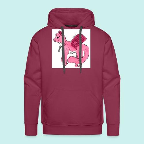 pink_cat - Miesten premium-huppari
