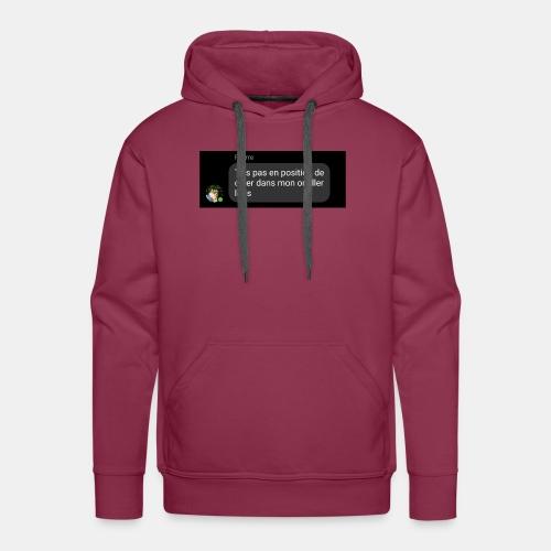 DBC - Chier dans l'oreiller - Sweat-shirt à capuche Premium pour hommes