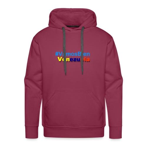 #vamosBien - Sudadera con capucha premium para hombre