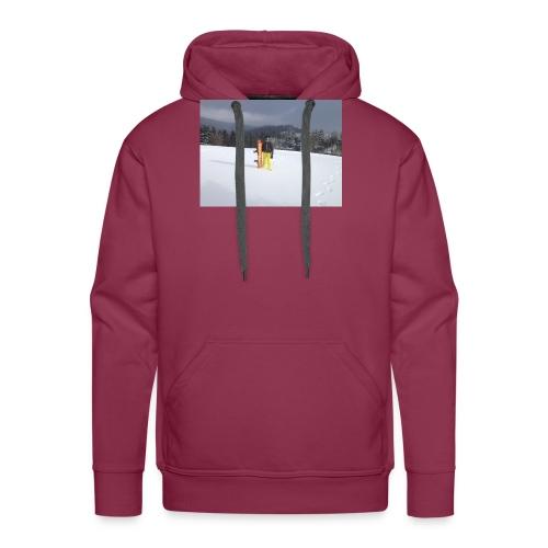 mountain girl - Mannen Premium hoodie