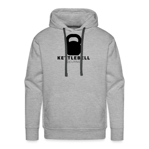 Kettlebell Deurne Logo Zwart - Mannen Premium hoodie
