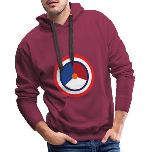 Nederland logo - Mannen Premium hoodie