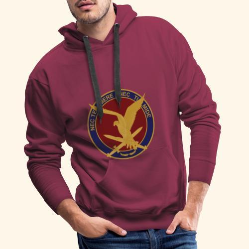 11 aaslt herinneringsenmbleem - Mannen Premium hoodie