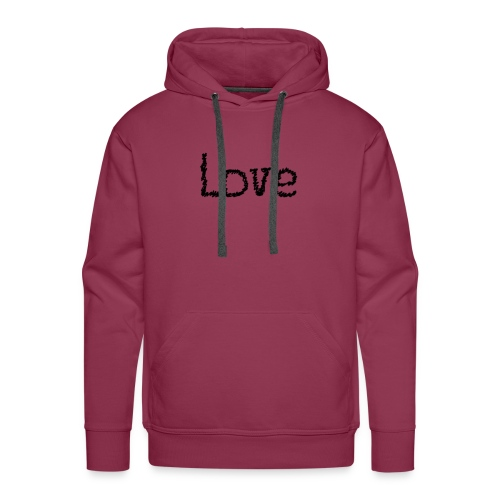 Love sketch - Männer Premium Hoodie