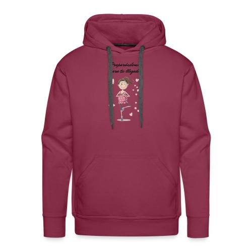 Camisetas para mujeres embarazadas - Sudadera con capucha premium para hombre