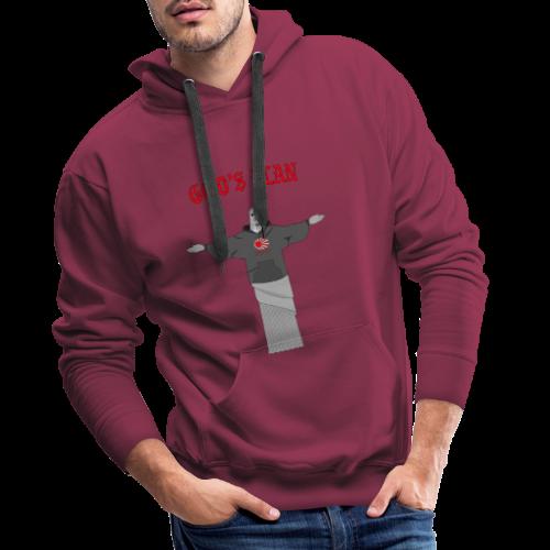 God's Plan - Sweat-shirt à capuche Premium pour hommes
