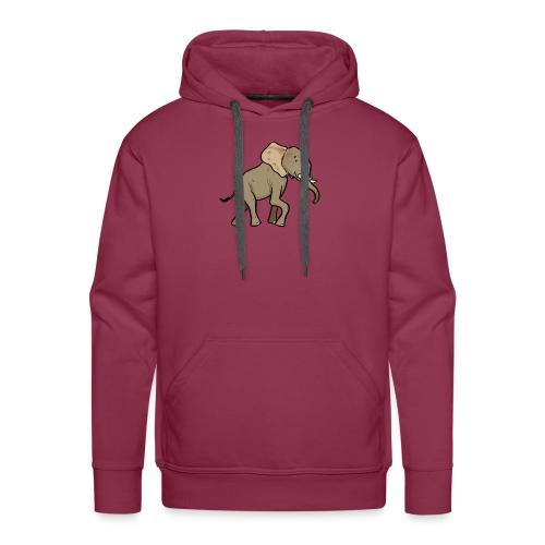 African Elephant - Sweat-shirt à capuche Premium pour hommes