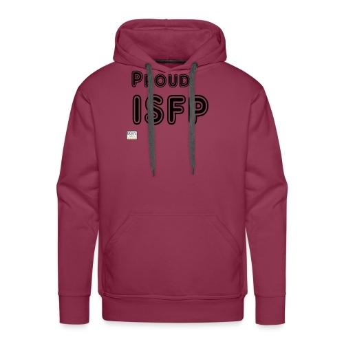 Proud ISFP (MBTI) noir - Sweat-shirt à capuche Premium pour hommes