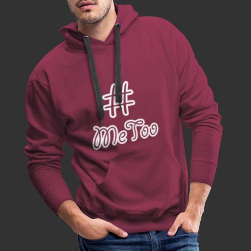 T-shirt dam Premium, Hashtag MeToo - Premiumluvtröja herr