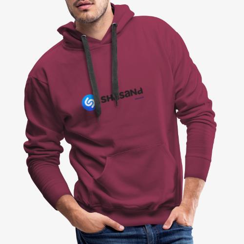 Shasand - Felpa con cappuccio premium da uomo