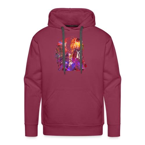 Indiaanse vrouw. Native American Woman - Mannen Premium hoodie