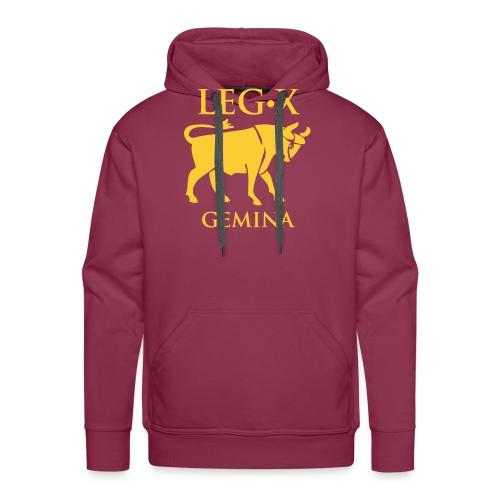 leg_x_gemina - Felpa con cappuccio premium da uomo